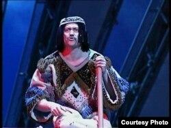 Марат Әбдрәхимов Норд Ост мюзиклында Муса ролендә
