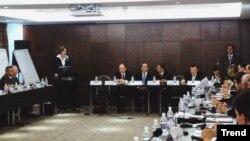 Çirkli pulların «yuyulması»na dair beynəlxalq seminar, 30 oktyabr 2006