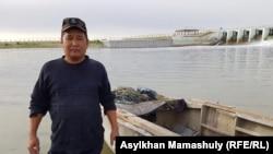 Рыбак Алтай Шыманулы. Кызылординская область, 21 июля 2018 года.
