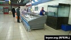В симферопольском супермаркете. 15 января 2015 года