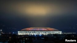 Стадион «Лужники» в Москве, архивное фото