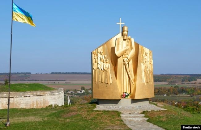 Пам'ятник Петру Конашевичу-Сагайдачному (близько 1582–1622) в Хотині