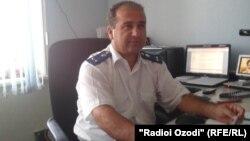 Музаффар Юсуфов, начальник отдела по расследованию особо важных преступлений прокуратуры Хатлонской области