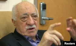 U.S.-based cleric Fethullah Gulen, whose followers Turkey blames for a failed coup.