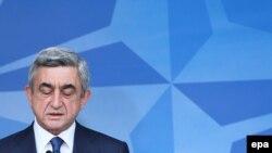 Ерменскиот претседател Серж Саркисјан