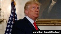 Дональд Трамп, АҚШ президенті.