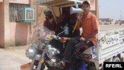 دراجة نارية محورة (ستوتة) في بغداد