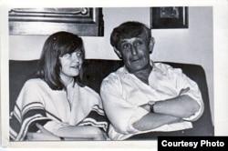 Елена Костюкович и Виктор Некрасов