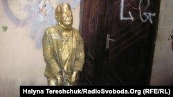 Пам'ятник Сталіну у Львові, 7 травня 2012 року