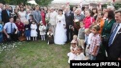 Вянчаньне Зьмітра Дашкевіча і Насты Палажанкі