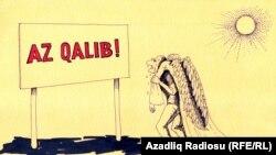 Rəşid Şerif, Karikatura, «Ümid»