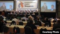 Европски атлетски конгрес во Скопје.
