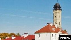 Пажарная вежа і дэпо, у якім месьціцца музэй