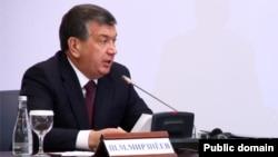 Бош вазир Шавкат Мирзиëев.