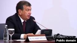 O'zbekiston muvaqqat prezidenti Shavkat Mirziyoev.
