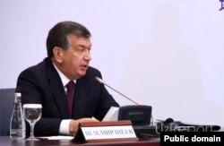 Өзбекстан премьер-министрі Шавкат Мирзияев.