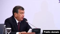 Ўзбекистон Бош вазири Шавкат Мирзиёев.
