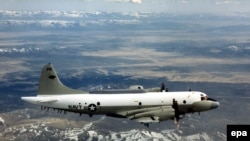 Самолет EP-3 ВМС США (архивное фото)