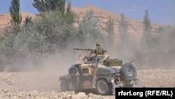 Soldați afgani, în provincia Faryab