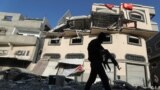 """""""Yslam jyhady"""" jeňçi toparynyň kommandiri Baha Abu Al-Attanyň Gazadaky öýi. 12-nji noýabr, 2019 ý."""
