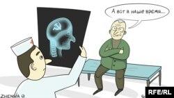 Карикатура Евгении Олийник