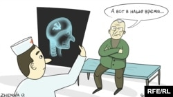 Політична карикатура (Автор: Євгенія Олійник)