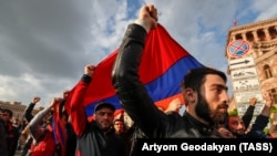 """While there is not an anti-Russian element to the protests in Armenia, Moscow has no love for """"people power."""""""