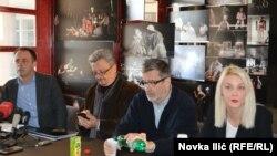 Sa konferencije za novinare Festivala, foto: Novka Ilić