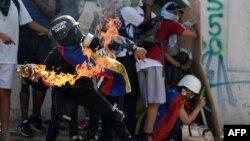 Акции протеста в Венесуэле, июль 2017 года