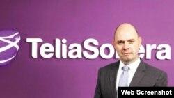 TeliaSonera ширкатининг Евроосиё бўйича жамоатчилик алоқалари департаменти вице-президенти Эрим Тайланар.