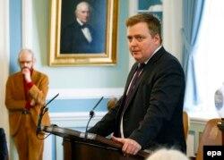 Прем'єр-міністр Ісландії Сігмюндюр Давід Ґюнлейґссон