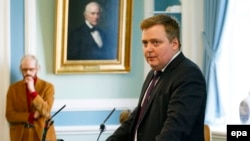 Kryeministri i Islandës, Sigmundur Gunnlaugsson