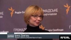 Кандидат у депутати, самовисуванець Ірина Довгань у гостях проекту «Донбас обирає».