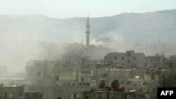 Пригород Дамаска, где, возможно, 21 августа 2013 г. произошла химическая атака.