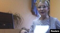 Юлия Тимошенко мәхкәмә утырышында