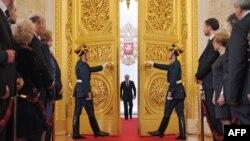 Церемония инаугурация президента России Владимира Путина. 7 мая 2012 года