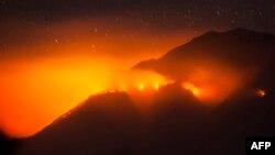 آتشسوزی جنگلهای اندونزی ۲۱ اوت