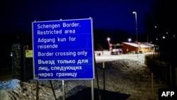 Норвелький пункт пропуску на кордоні з Росією