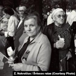 """Участники акции """"Балтийский путь"""""""