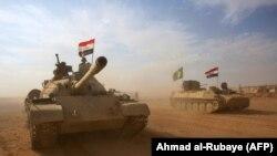 پیشروی نیروهای عارقی به سوی القائم، در استان انبار