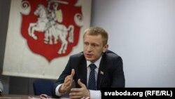 Старшыня Партыі БНФ Аляксей Янукевіч
