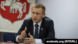 Лідэр партыі БНФ Аляксей Януквіч