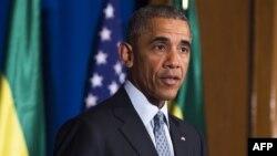 АҚШ президенті Барак Обама. Аддис-Абеба, Эфиопия, 27 шілде 2015 жыл.