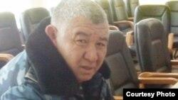 Жаңаөзен қалалық іші істер басқармасының бастығы Амангелді Досаханов. 25 ақпан 2012 жыл.