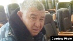 Жаңаөзен қаласы ішкі істер басқармасы бастығы, полковник Амангелді Досаханов. 25 ақпан 2012 жылы. (Азаматтық белсенді Ғалым Ағелеуовтің суреті)