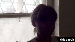 Девушка под псевдонимом Салима из Кыргызстана рассказывает о том, как она попала в проституцию в Турции. Кадр видео.