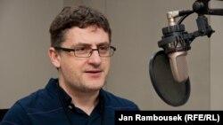 Mark Galeotti, professor of Global Affairs at New York University, speaking to RFE/RL in January 2012.