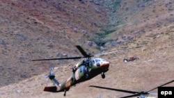 ترکیه بارها مواضع پ کا کا را در استان حکاری مورد حمله قرار گرفته است. (عکس: EPA)
