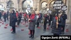Dan borbe protiv femicida obilježen u Beogradu