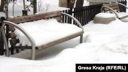 Snežno nevreme na Kosovu, 7.2. 2012.